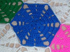 Pieza hexagonal