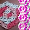 Ilusiones de cubos 3D