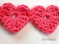 Crochet continuo: Método 1